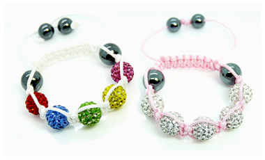 Kids Crystal Ball Bracelet